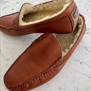e7a9329778ff Allen Edmonds Shoes - Men s leather fleece lined slippers.